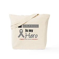 Brain Cancer Girlfriend Tote Bag