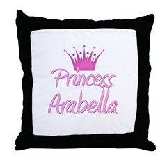 Princess Arabella Throw Pillow
