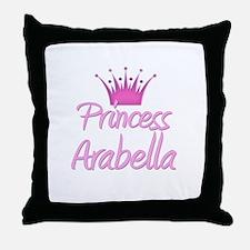 Princess Arabella Throw Pillow
