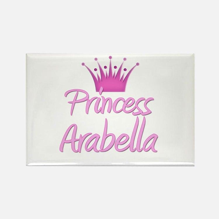 Princess Arabella Rectangle Magnet