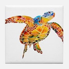 Sea Turtle Tile Coaster