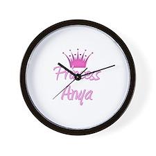 Princess Anya Wall Clock