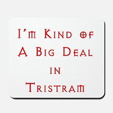 Im Kind of A Big Deal In Tristram Mousepad