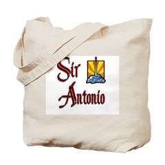 Sir Antonio Tote Bag