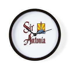 Sir Antonia Wall Clock