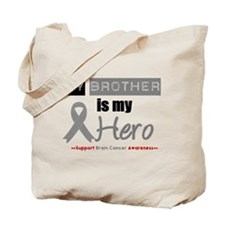 Brain Cancer Hero Brother Tote Bag