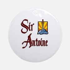 Sir Antoine Ornament (Round)