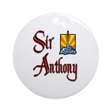 Sir Anthony Ornament (Round)