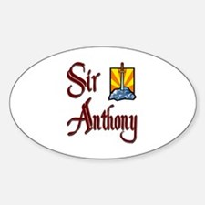 Sir Anthony Oval Decal