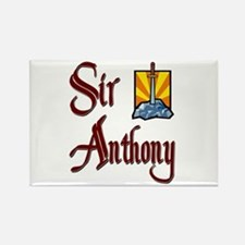 Sir Anthony Rectangle Magnet