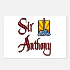 Sir Anthony Postcards (Package of 8)