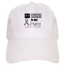 Brain Cancer Hero Aunt Baseball Cap