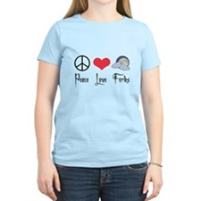 Peace Love Forks T-Shirt