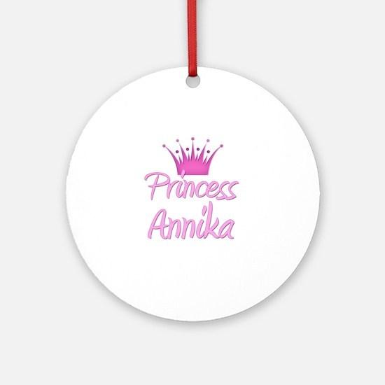 Princess Annika Ornament (Round)