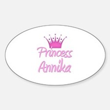 Princess Annika Oval Decal