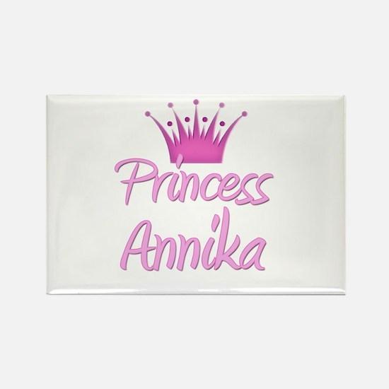 Princess Annika Rectangle Magnet