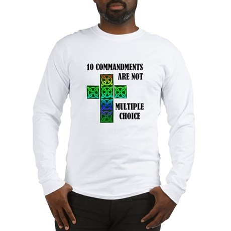 TEN COMMANDMENTS Long Sleeve T-Shirt