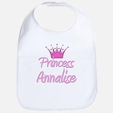 Princess Annalise Bib
