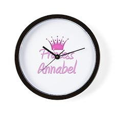 Princess Annabel Wall Clock