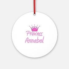 Princess Annabel Ornament (Round)