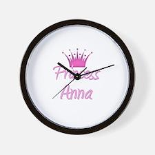Princess Anna Wall Clock