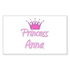 Princess Anna Rectangle Decal