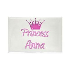 Princess Anna Rectangle Magnet (10 pack)