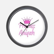 Princess Aniyah Wall Clock
