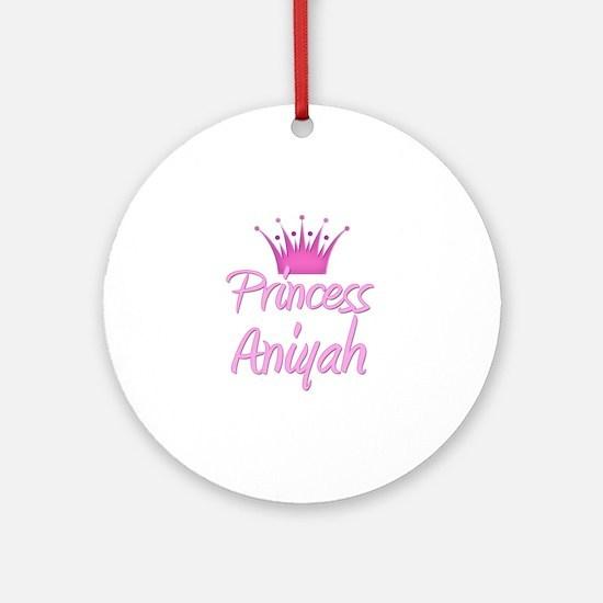 Princess Aniyah Ornament (Round)