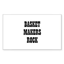 BASKET MAKERS ROCK Rectangle Decal