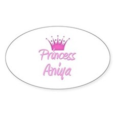 Princess Aniya Oval Decal