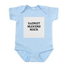 BASKET MAKERS  ROCK Infant Creeper