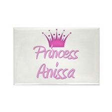 Princess Anissa Rectangle Magnet