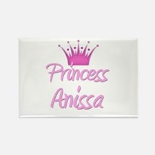 Princess Anissa Rectangle Magnet