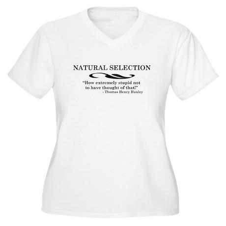 Huxley Women's Plus Size V-Neck T-Shirt
