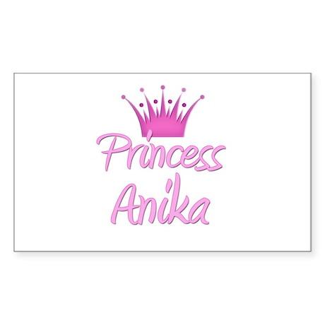 Princess Anika Rectangle Sticker