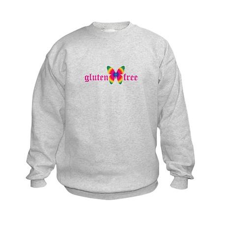 gluten-free butterfly Kids Sweatshirt