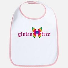 gluten-free butterfly Bib