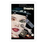 Shopping Postcards (Package of 8)