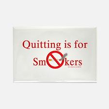Quit Smoking Rectangle Magnet