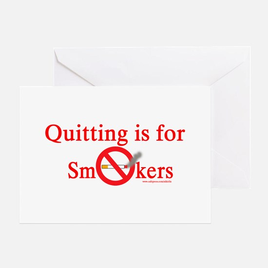 Quit Smoking Greeting Card