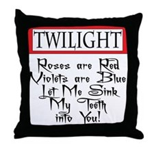 Twilight Valentine Throw Pillow