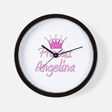Princess Angelina Wall Clock
