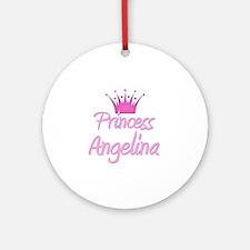 Princess Angelina Ornament (Round)