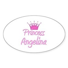 Princess Angelina Oval Decal
