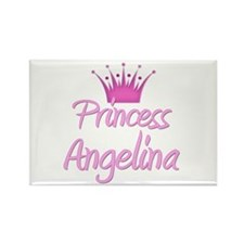 Princess Angelina Rectangle Magnet