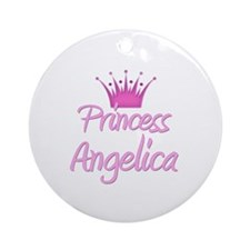 Princess Angelica Ornament (Round)