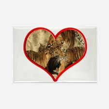 Helaine's Tiger Mom's Love Rectangle Magnet