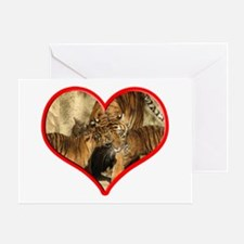 Helaine's Tiger Mom's Love Greeting Card