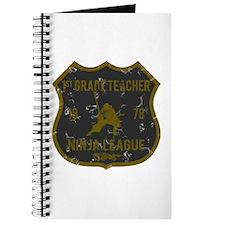 1st Grade Teacher Ninja League Journal